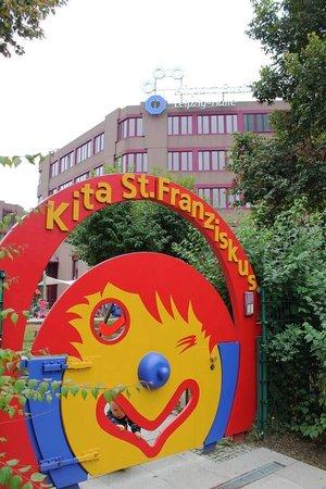 Kita St. Franziskus Schkeuditz, Eingang